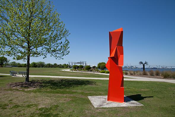 Outdoor Sculpture at North Charleston Waterfront Park