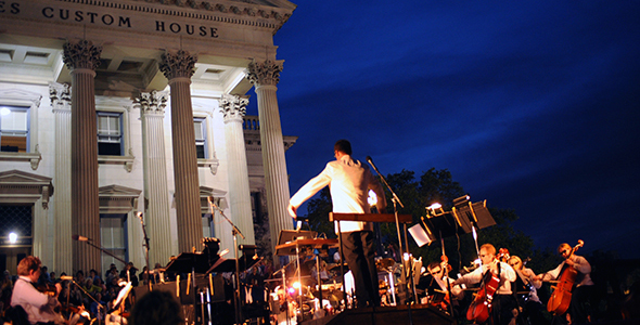Become enchanted by the Charleston Symphony Orchestra at the Sunset Serenade Concert!