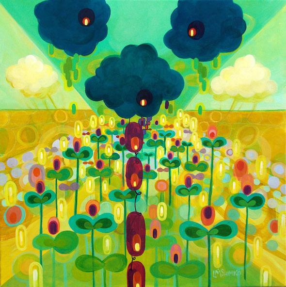 Cloud Garden II by Lisa Shimko