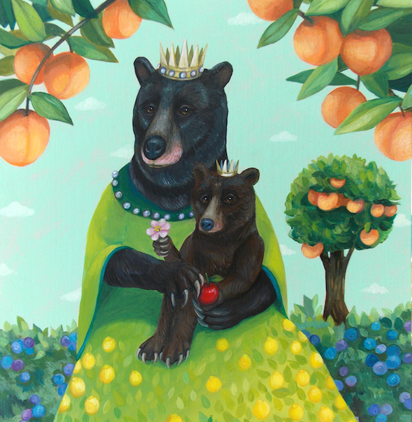 """""""Mother and Child Fruit"""" by Lisa Shimko"""